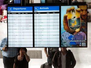 Smart Airport Signage