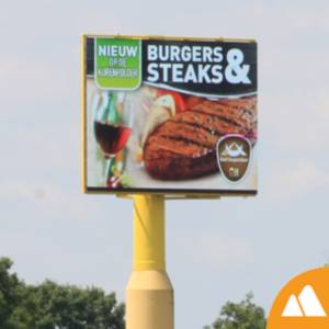 Steak Billboard