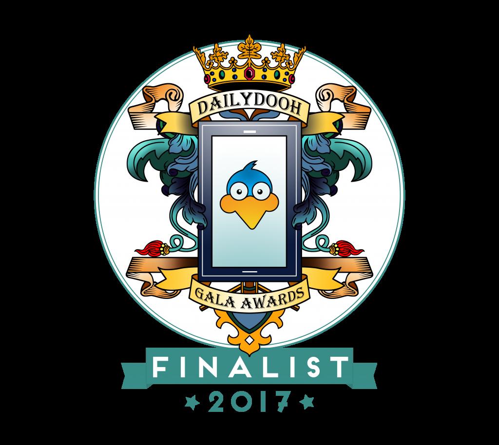 PADS4 DailyDOOH Gala Award finalist 2017