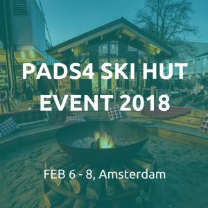 PADS4 Ski Hut Event 2018
