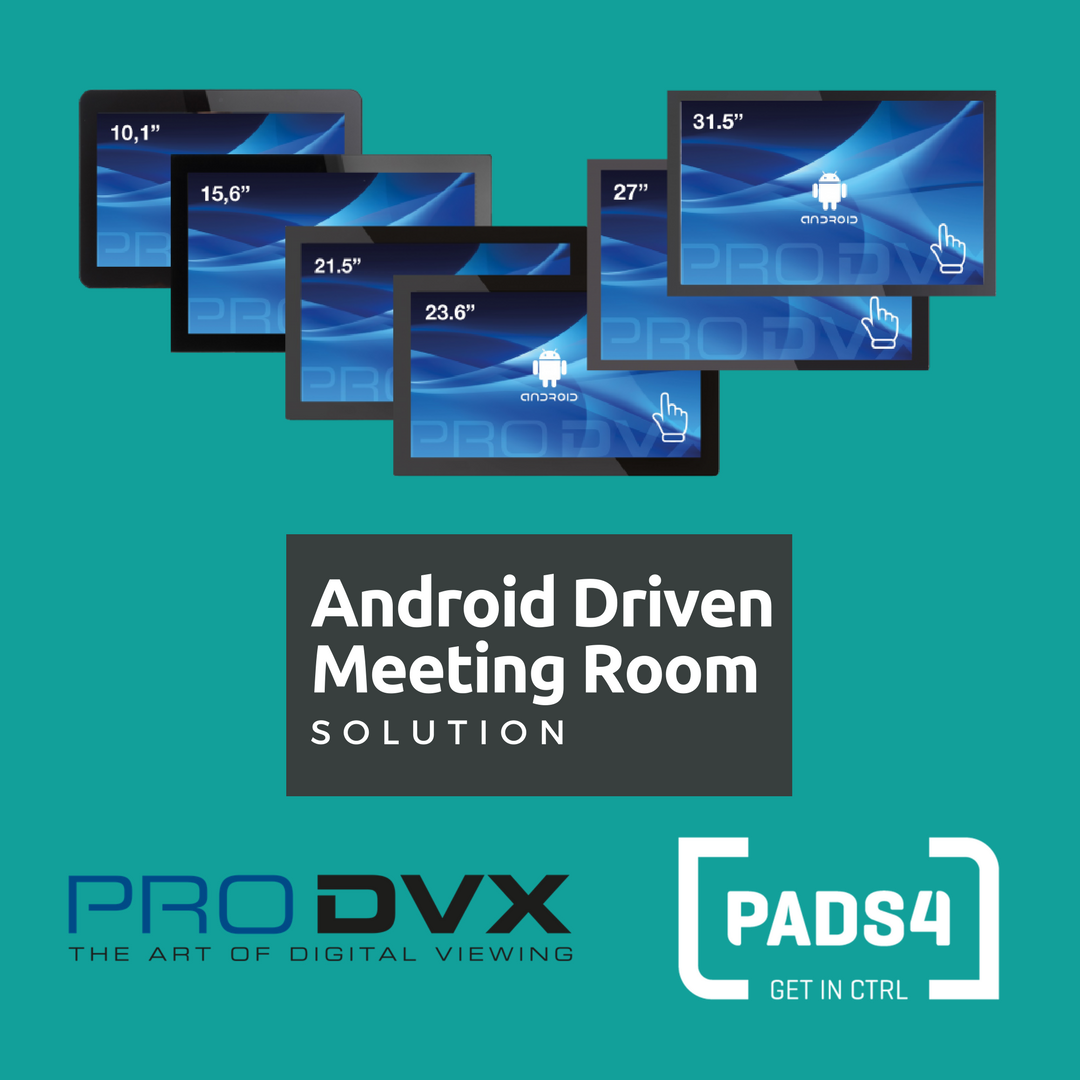 ProDVX & PADS4 meeting room solution