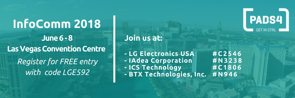Join us at InfoComm 2018