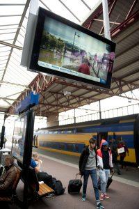 PIDS - Train station signage